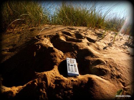 .Milläs&Orilläs.  ¿Cómo puede llegar un mando hasta las dunas?